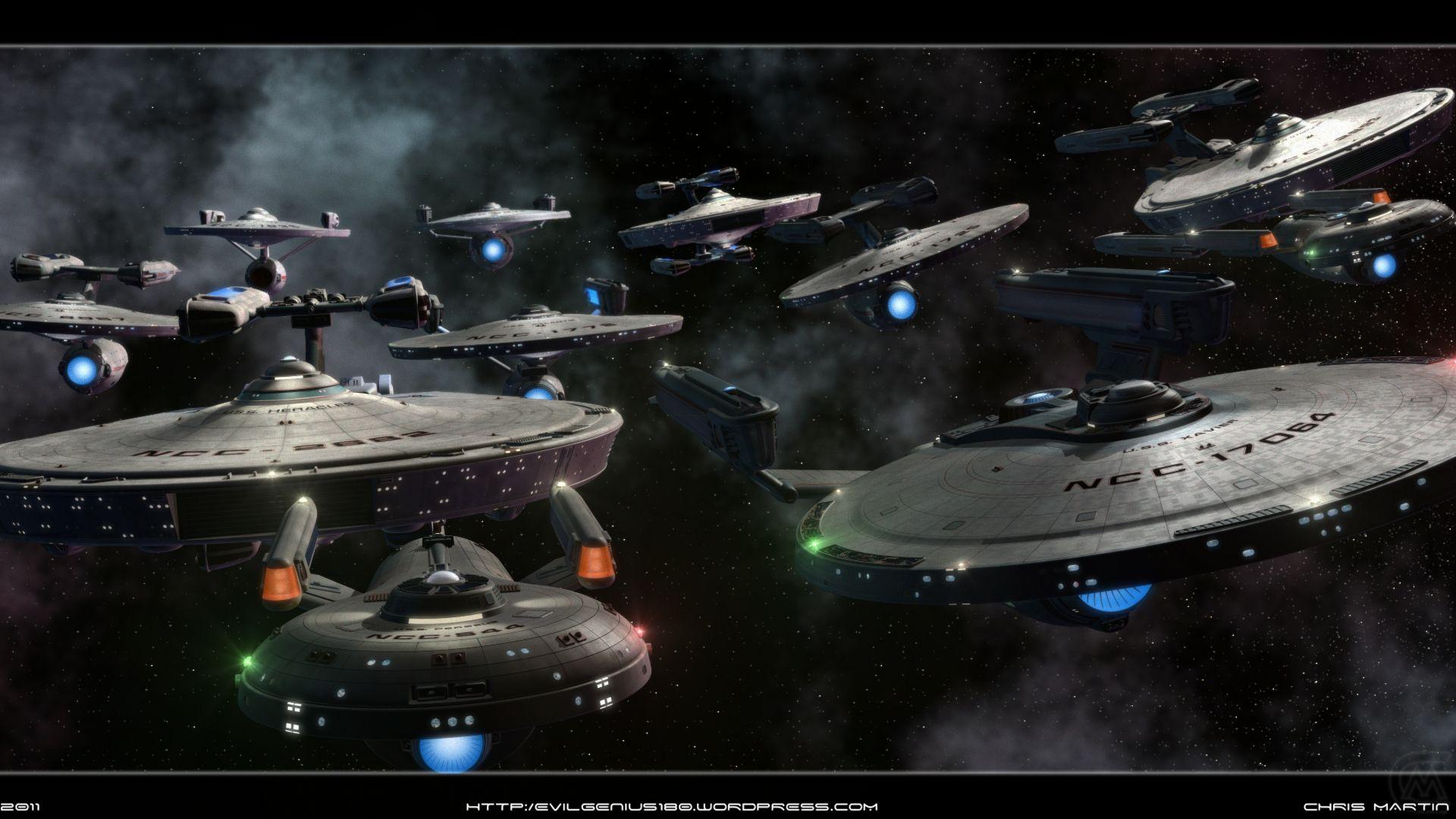 United Federation of Planet (Star Trek) vs Tau Empire (WH40K
