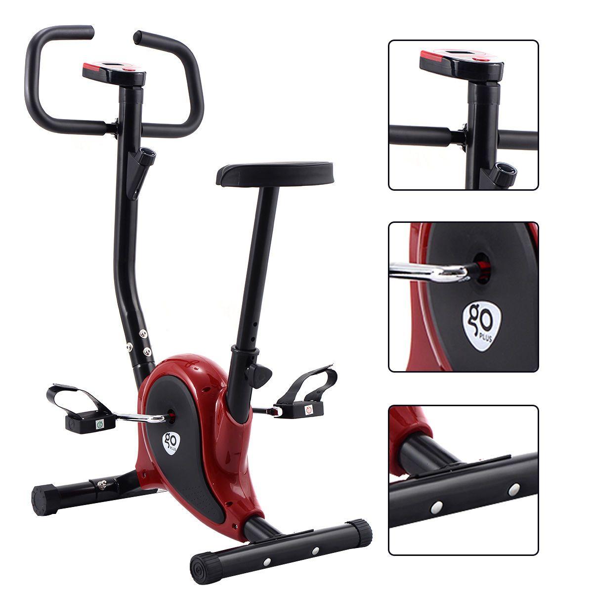 Exercise Bike Stationary Cycling Fitness Cardio Aerobic Equipment