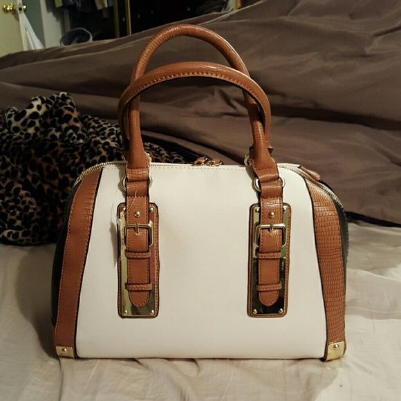 a4073765edd Satchel handbag Brand new Aldo satchel. ..black beige and camel colored ALDO  Bags Satchels