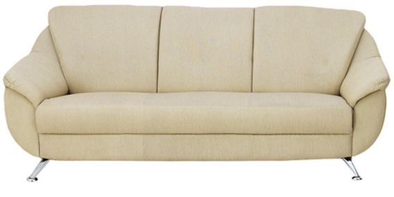 Best Apollo Three Seater Sofa In Beige Colour By Furnitech 400 x 300