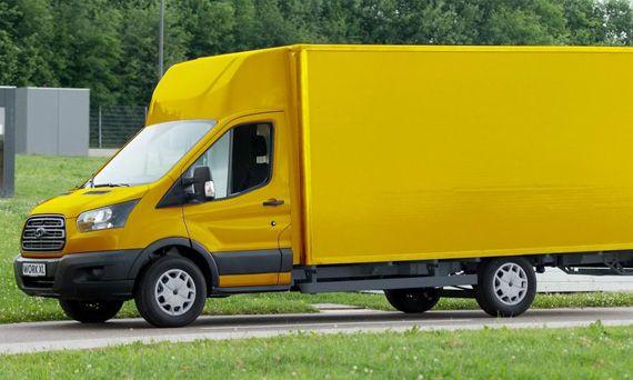 Электрический фургон доставки StreetScooter Work XL