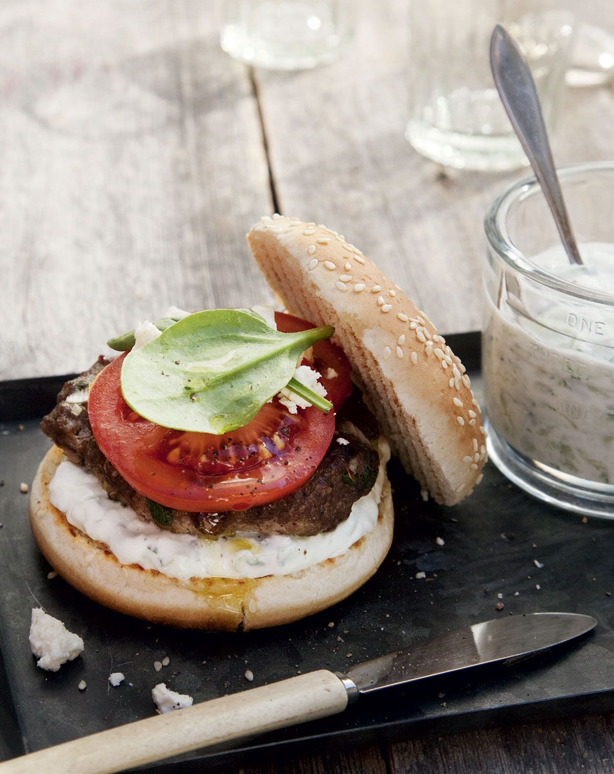 Lammasburgerit | Reseptit