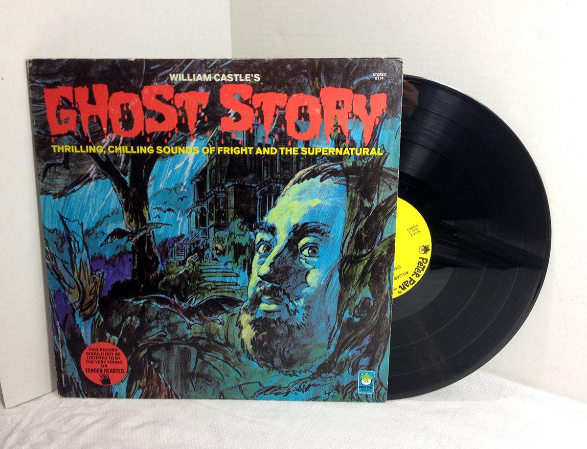 William Castle S Ghost Story 1972 Vinyl Record Vintage Lp