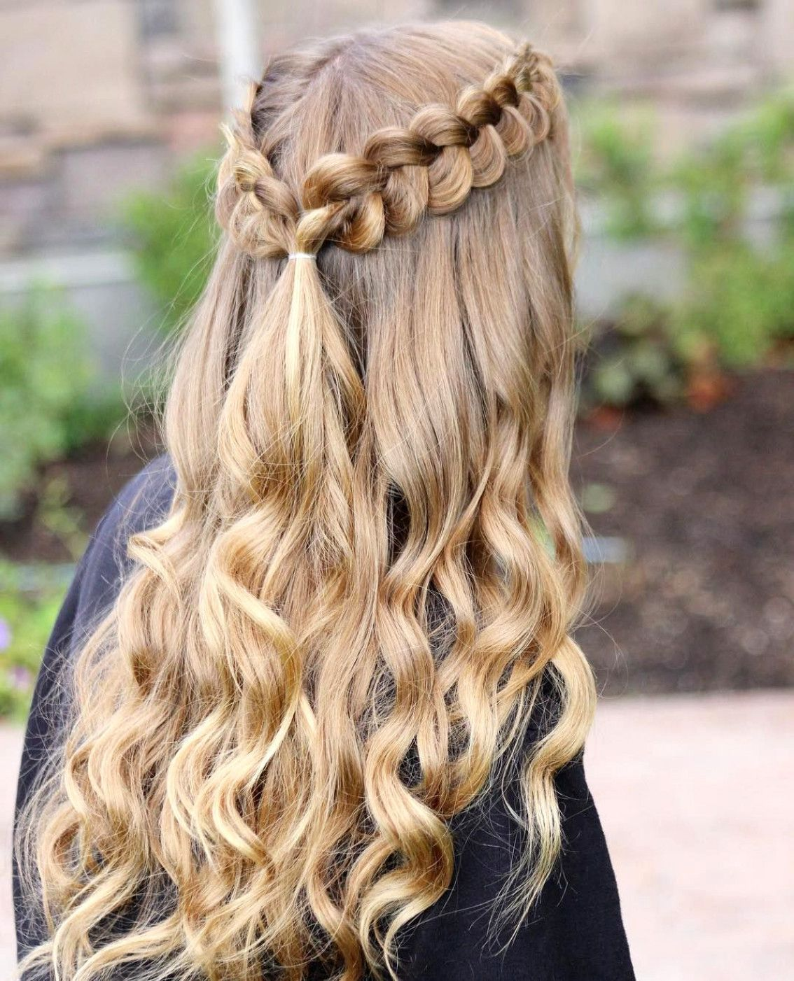 Naturalcurls Cheer Hair In 2019 Dance Hairstyles Braided Prom Hairstyles For Long Hair Simple Prom Hair Hair Styles