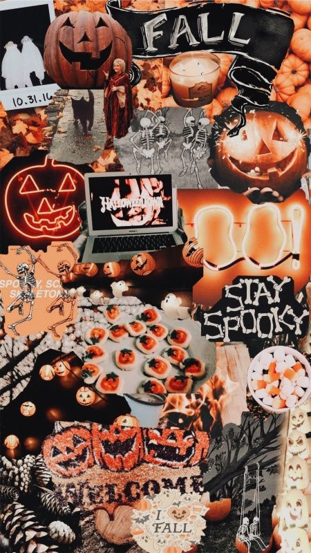 26 Trendy Aesthetic Christmas Wallpaper Collage With Images Halloween Wallpaper Iphone Fall Wallpaper Halloween Wallpaper