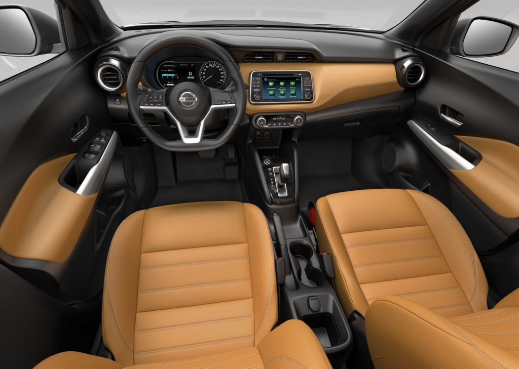 Interior Of The Nissan Kicks Compact Suv Revealed Nissan