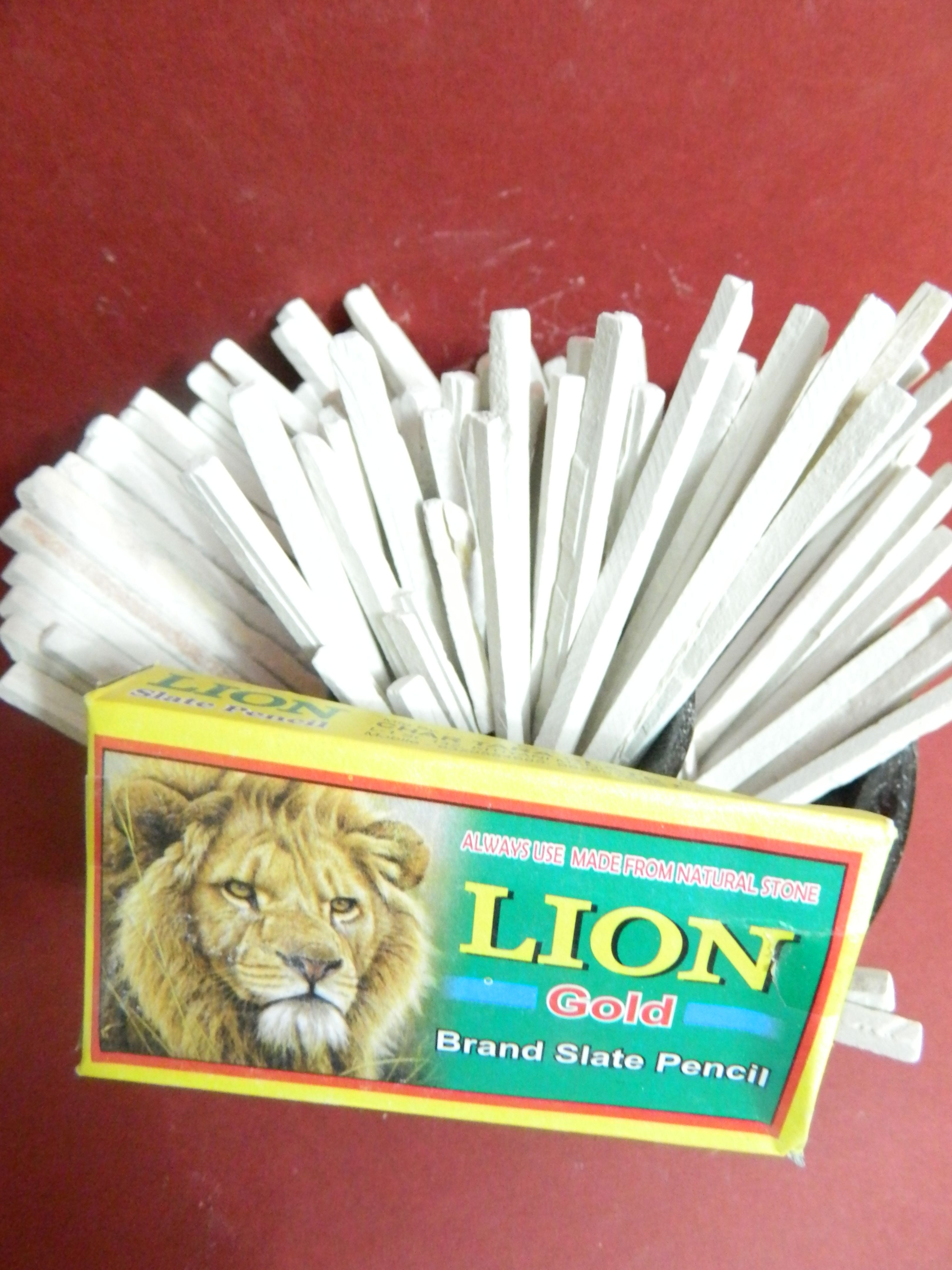 lion brand slate pencil chalk made from natural india saleti 500