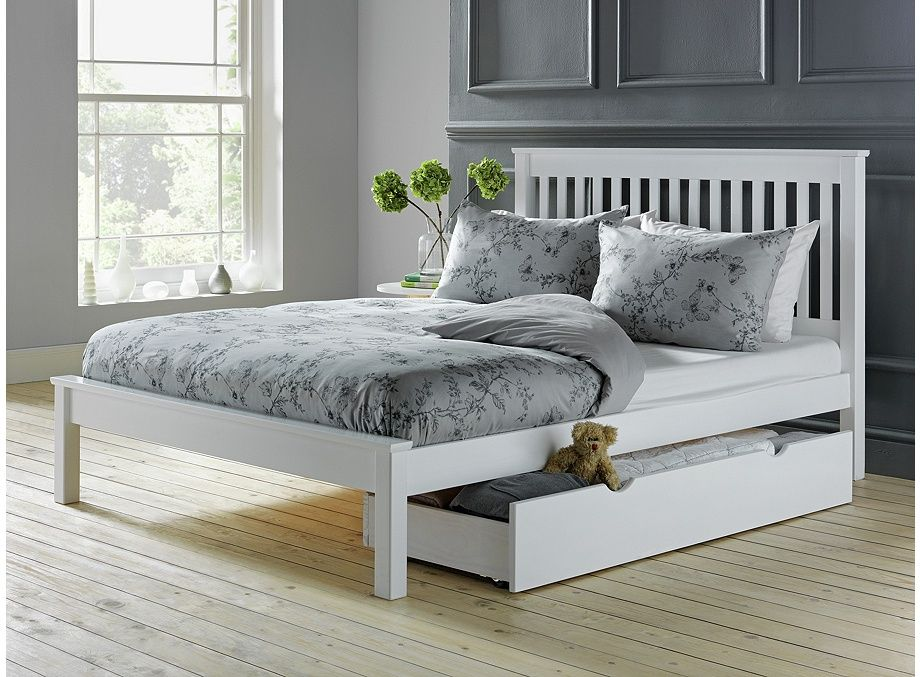 Buy Argos Home Aspley Double Bed Frame White Bed