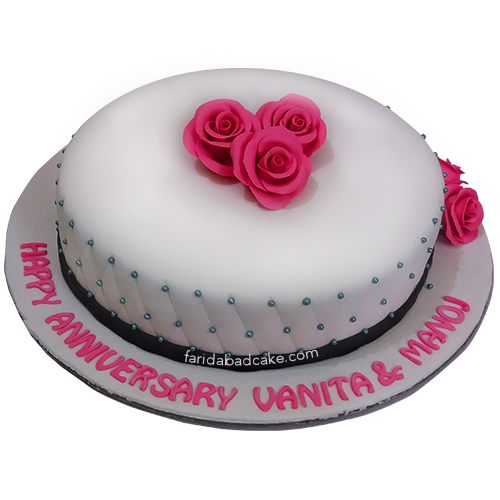 Awesome Anniversary Cake 2 Kg With Images Cake Pricing Fondant Cakes Birthday Cards Printable Inklcafe Filternl