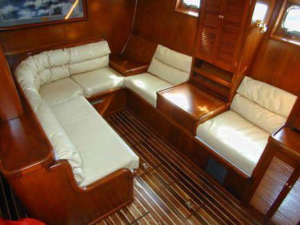 BOAT INTERIORS, Bruce Roberts, Steel Boat Plans, Boat Building .