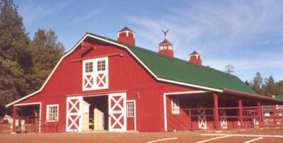 red barn doors. Exterior Solid Sliding Doors With Cross Bucks, Loft 6-lite Barn Sash Red