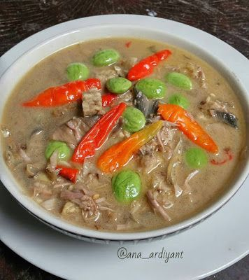 Resep Sayur Jantung Pisang By Ana Ardiyant Resep Masakan Masakan Makanan Dan Minuman