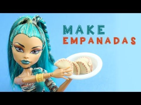 How to make Doll Empanadas - Easy Doll Crafts - YouTube