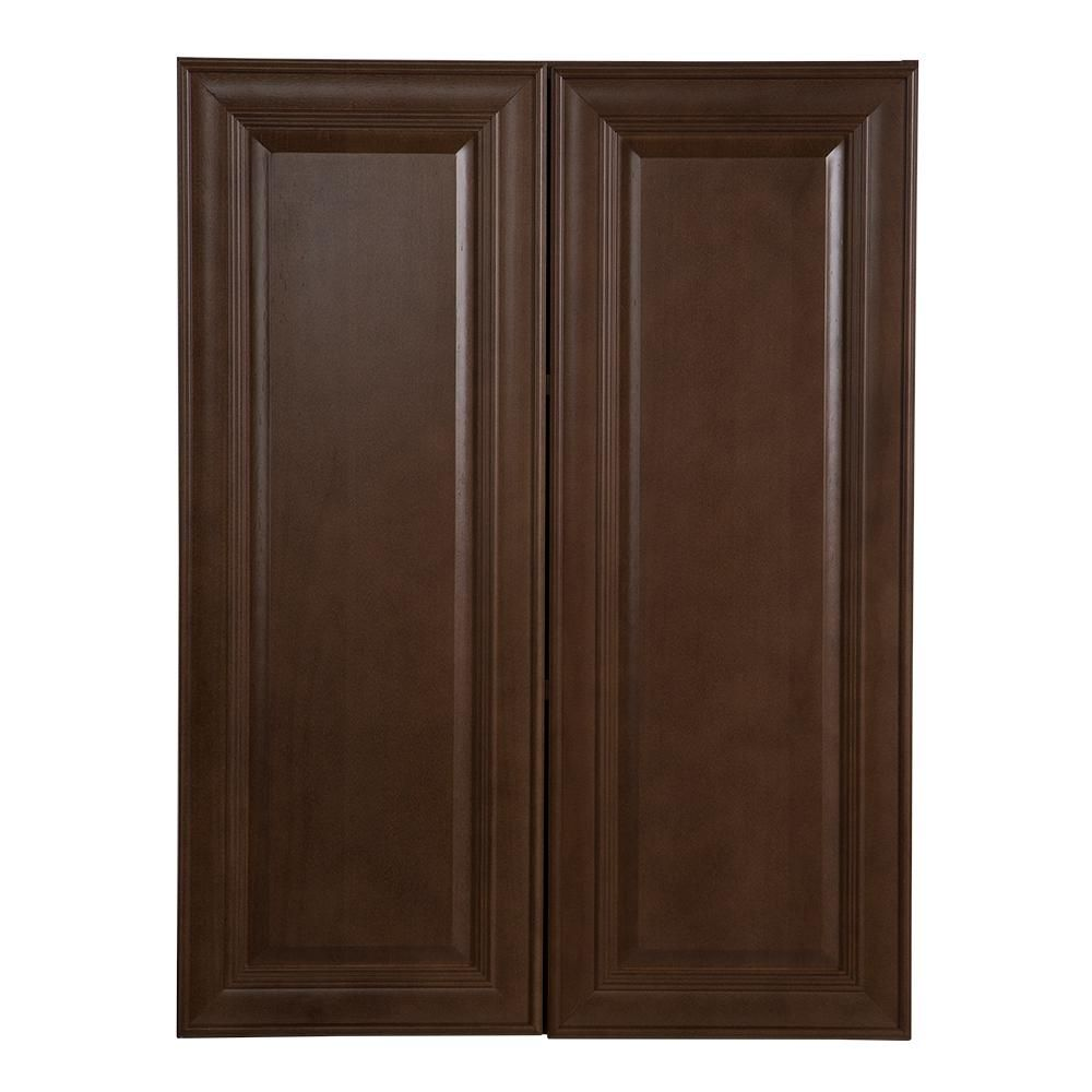 Best Hampton Bay Benton Assembled 27X36X12 In Wall Cabinet In 400 x 300