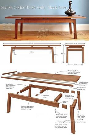 diy japanese furniture. Coffee Table Plans - Furniture And Projects | WoodArchivist.com Diy Japanese C