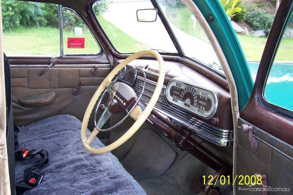 1946 OLDSMOBILE ACE original interior | All Olds All The Time ...