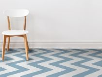 Vinyl flooring is trendy