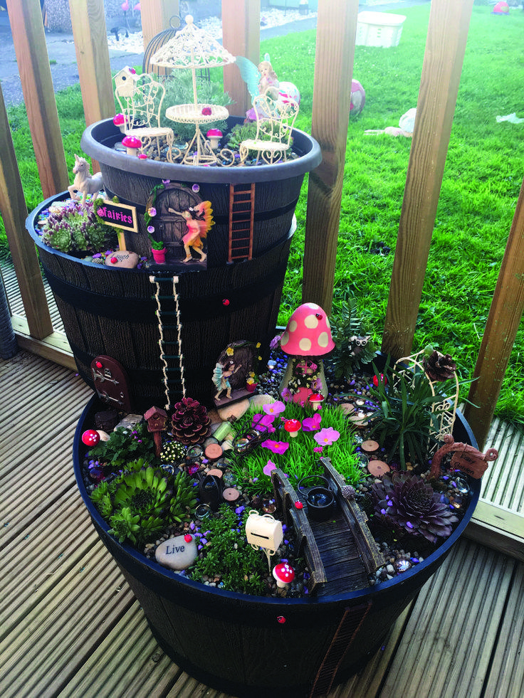 60 beautiful and easy fairy garden ideas for kids 35  Back and Front Yard Landscaping