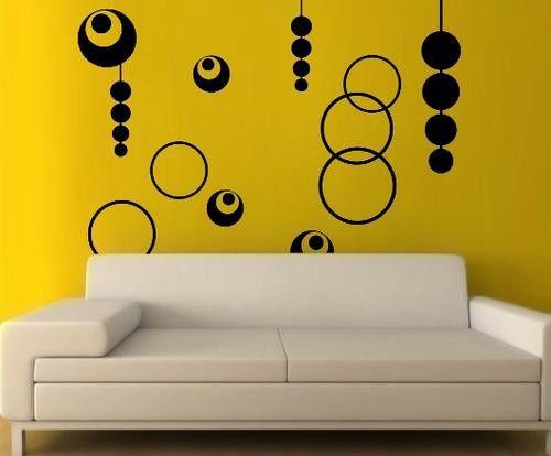 VINYL DECAL RETRO DESIGN WALL ART STICKER