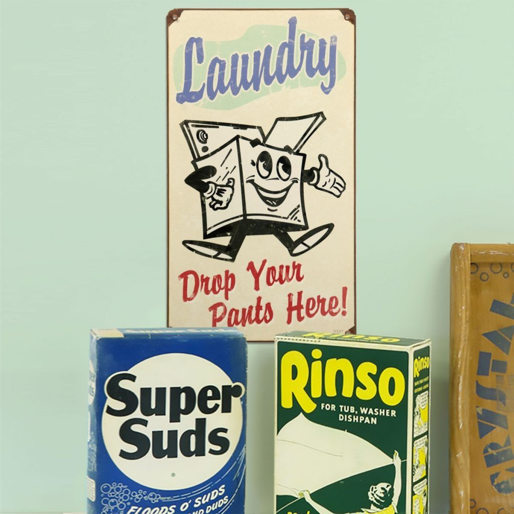 Vintage Laundry Room Signs Adorable Vintage Laundry Room Signs  Httpuhlakeroad  Pinterest Inspiration