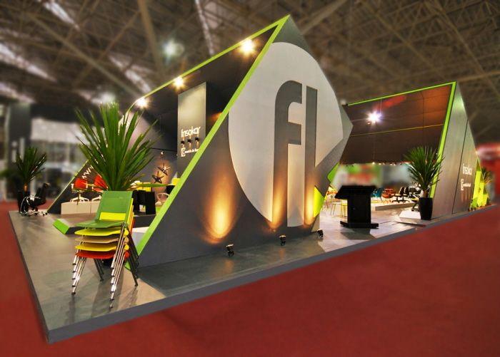 Exhibition Stand Graphic Design : Construidos environmental graphic design signage