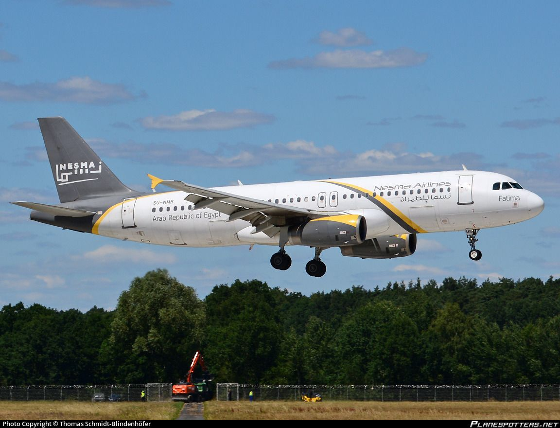 Su Nmb Nesma Airlines Airbus A320 232
