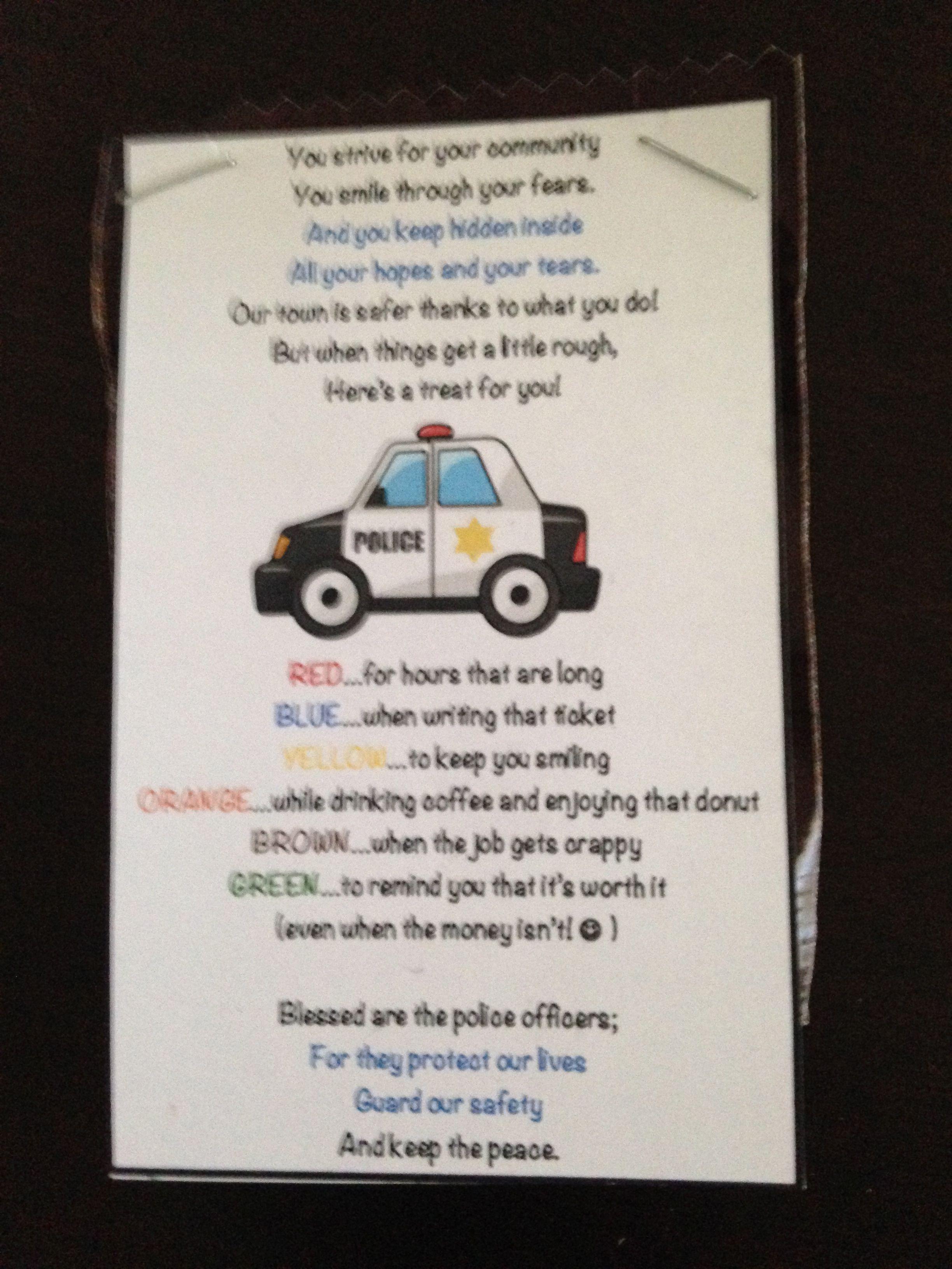 Police officers wife poem