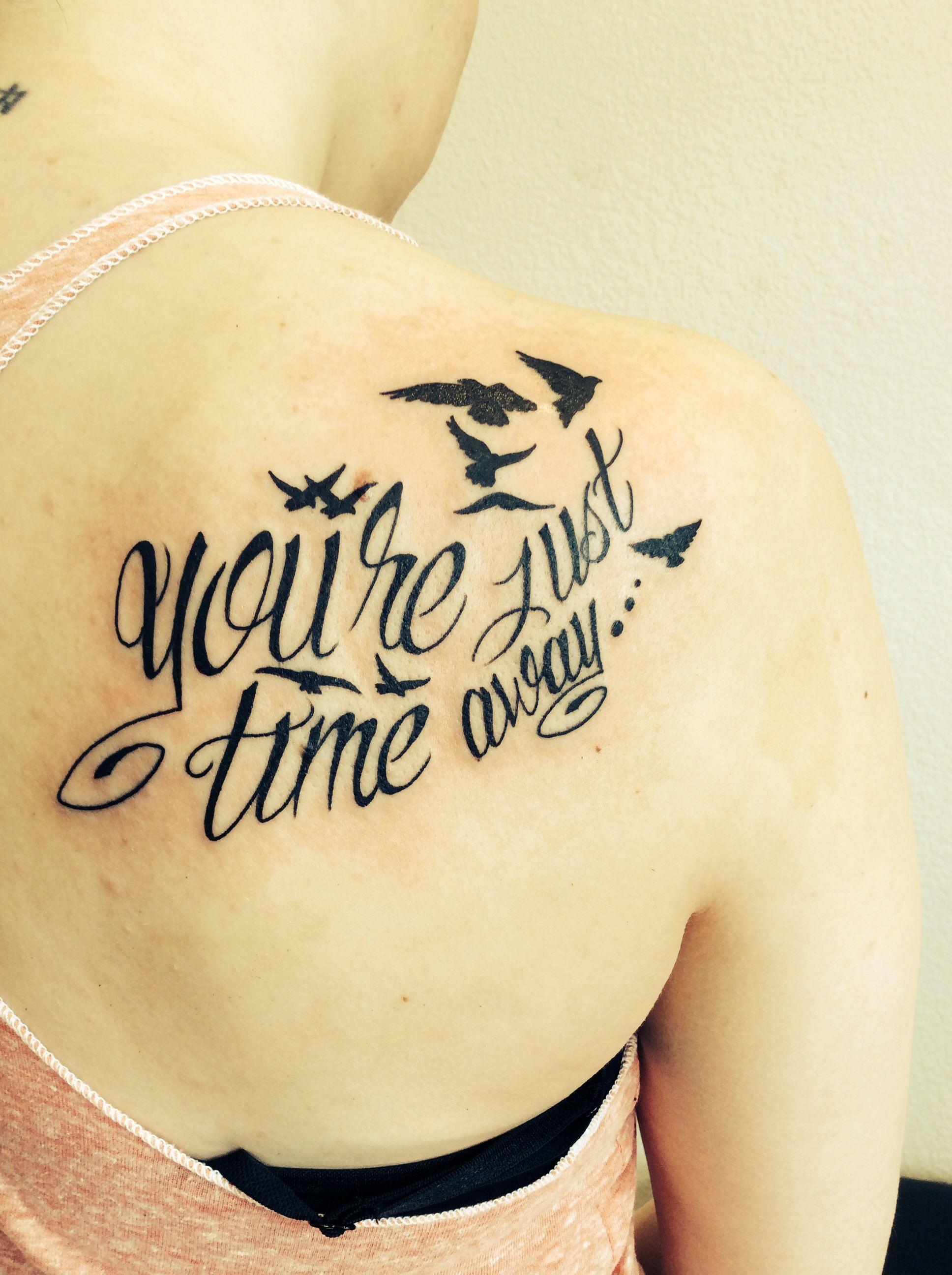 Italian tattoo words and phrases mixworld - Tattoo By Jojo Miller Dynamic Ink Eternal Ink Tattoo Placement Tattoo Ideas