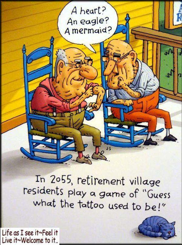Funny But True Cartoon Jokes Funny Old People Funny Cartoons