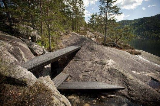 Into the landscape   Rintala Eggertson Architects