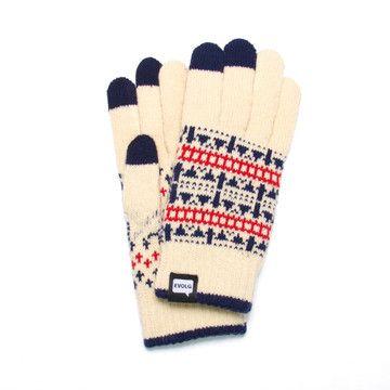 Touchscreen Fair Isle Gloves | Fair isles