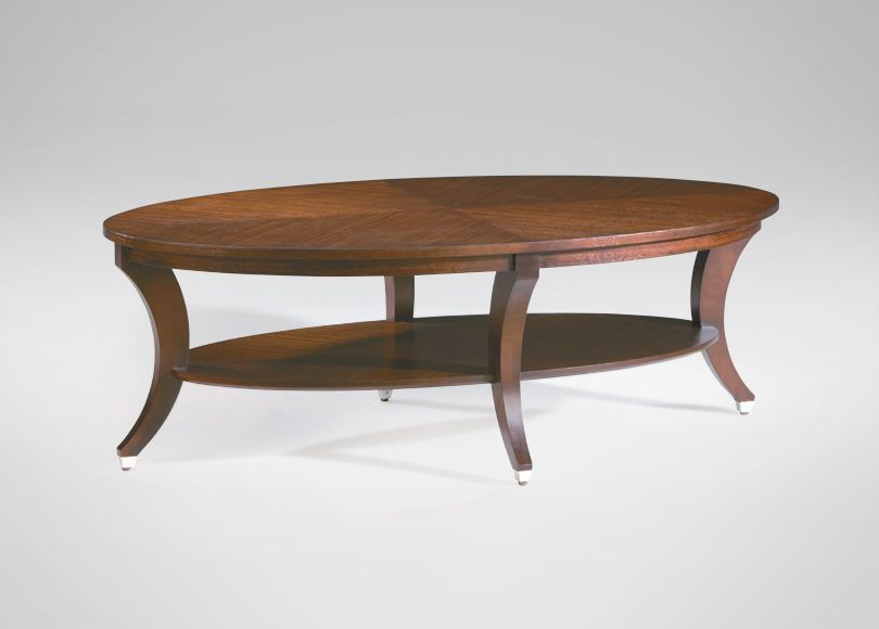 Lovely Adler Oval Coffee Table   Ethan Allen