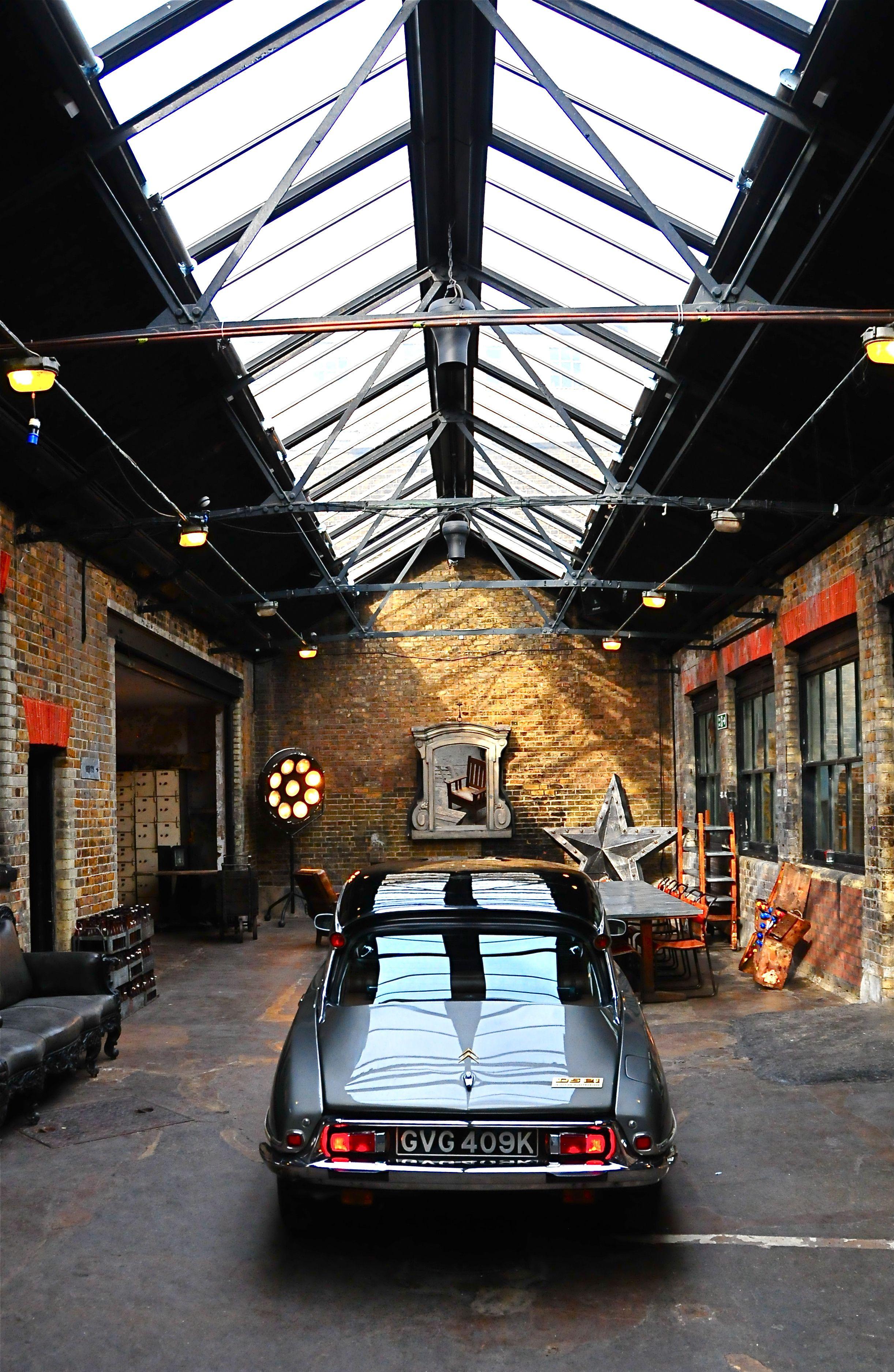 Morton Buildings Hobby Garage Interior In Cypress, Texas