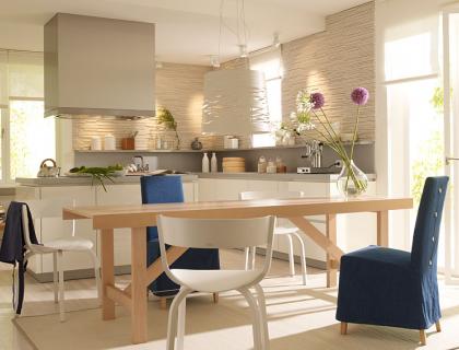 Die offene wohnküche planen