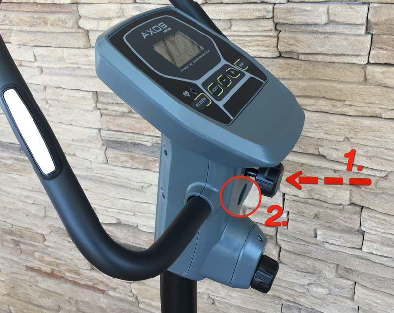 Kettler Heimtrainer Axos Cycle Test Ergometer Rollentrainer Trainer