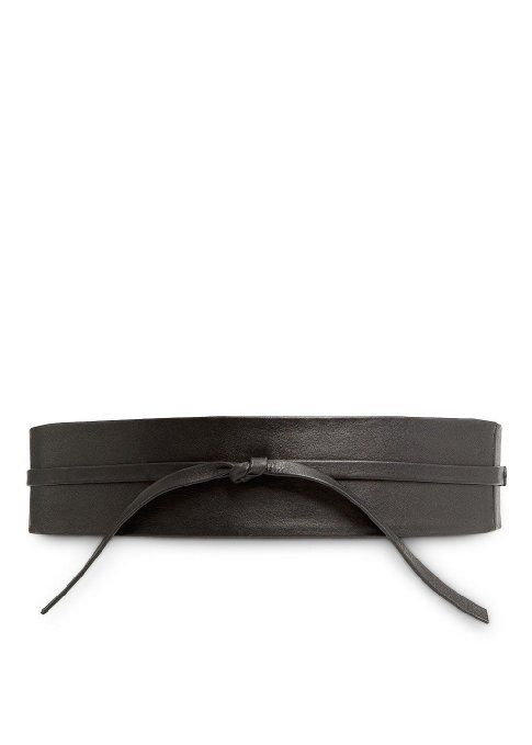 Amazon.com  Mango Women s Leather Sash Belt ab2ddd258e
