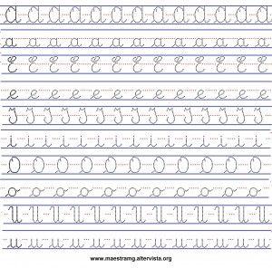 Risultati immagini per dallo stampatello al corsivo schede for Unito lettere