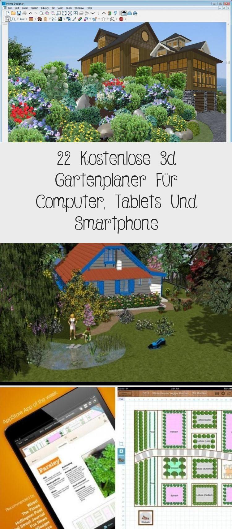 22 Kostenlose 3d Gartenplaner Fur Computer Tablets Und Smartphone In 2020 Smartphone App Tablet