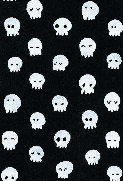 Cute Skull Wallpaper Skull Wallpaper Halloween Wallpaper Bee Illustration