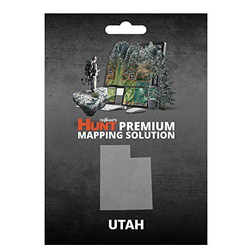 onXmaps HUNT Utah Digital Hunting Map For Garmin GPS