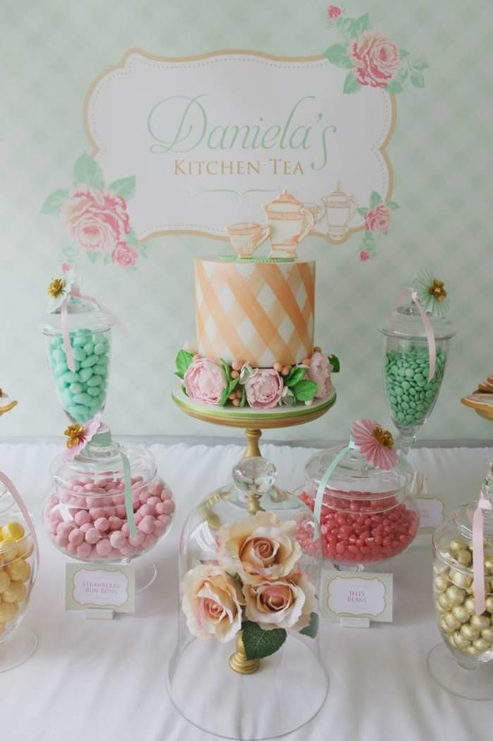 bridal shower teparty decorations%0A A beautiful Tea Party Bridal Shower from Events by Nat in Sydney Australia   with pink  mint and gold colors