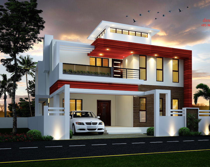 Duplex house designed by s i consultants amazing for Duplex designs india