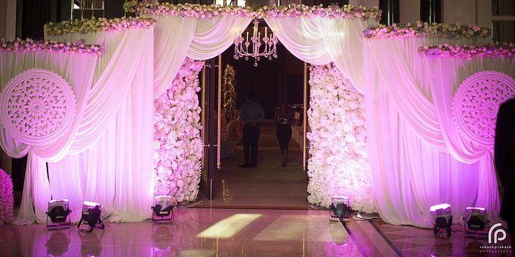 Event Entrance Wedding Venue Decorations Wedding Stage Decorations Wedding Gate