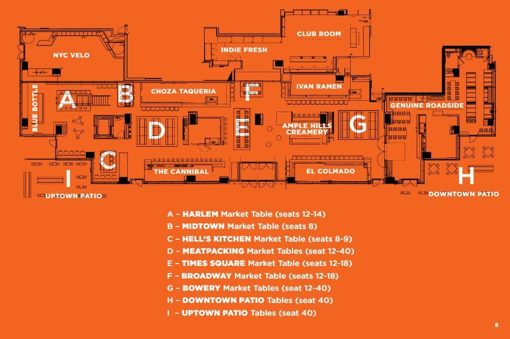 Gotham West Market Floor Plan gotham west market, new york city | food halls | pinterest | gotham