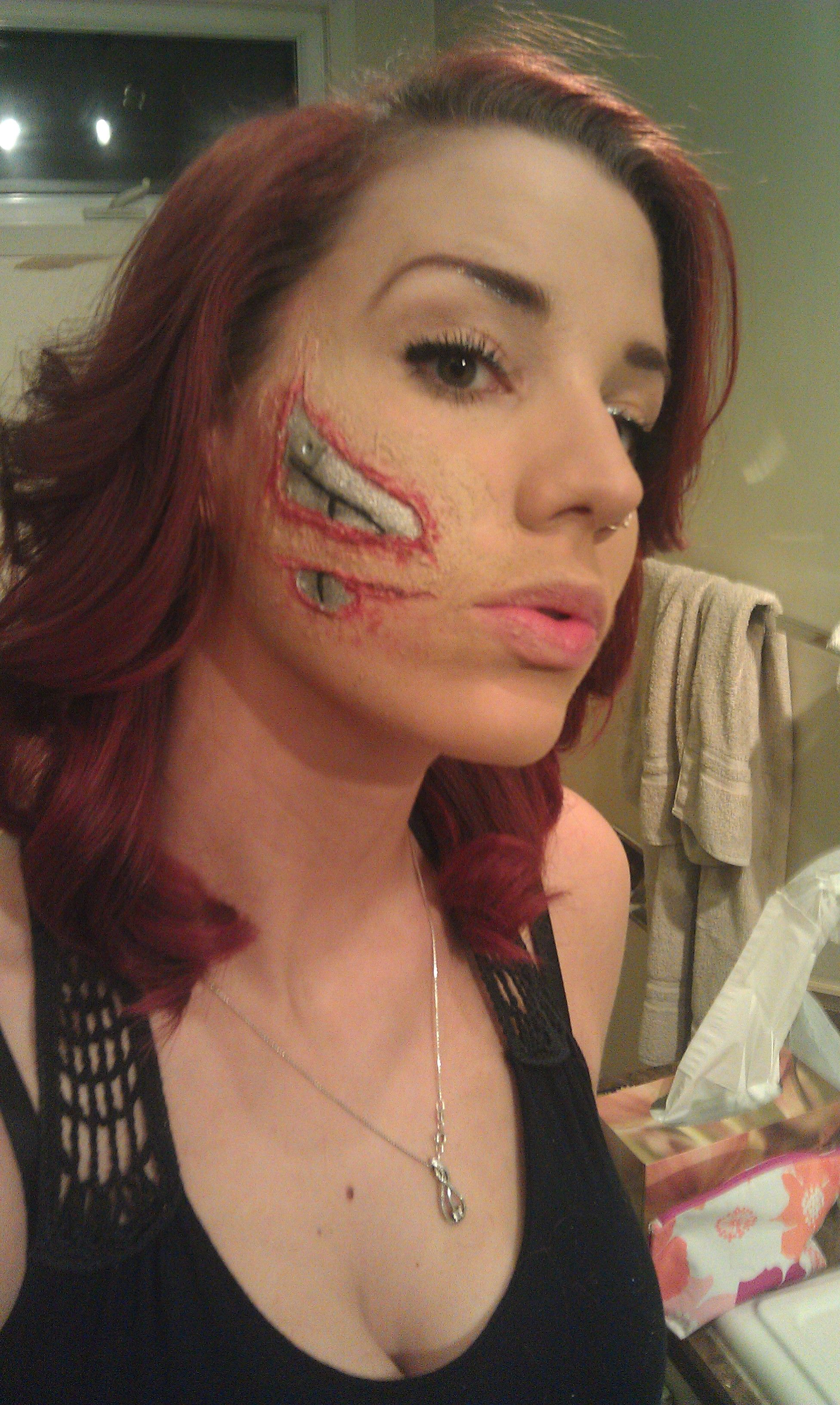 Cyborg Halloween costume part 3 | costume | Pinterest | Costumi di ...