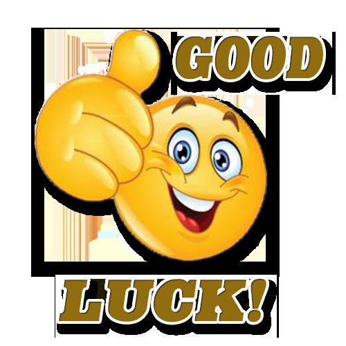 Good Luck Bonne Chance Emoji Drole Emoticone