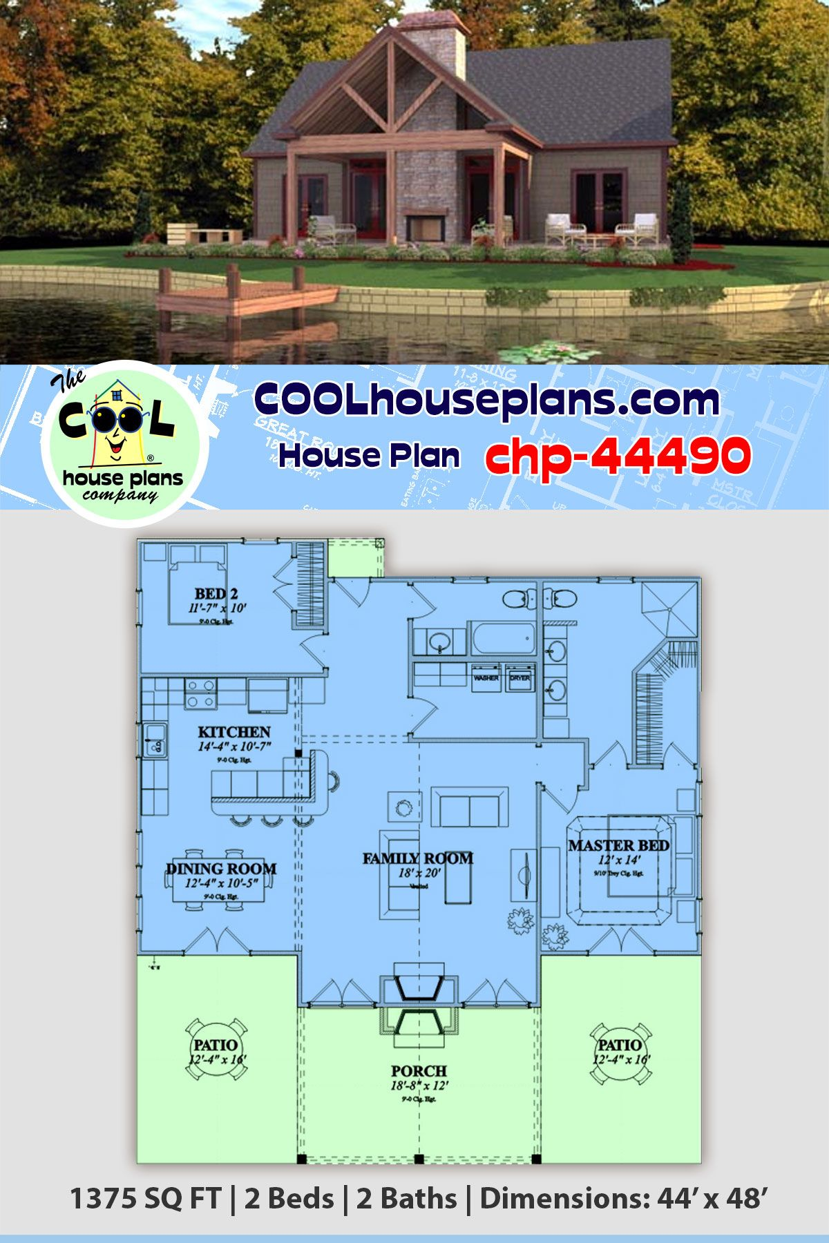 Http Www Coolhouseplans Com Details Html Pid 44490archstyle Cottageordercode Pt102 Vacation House Plans Bungalow Style House Plans Lake House Plans