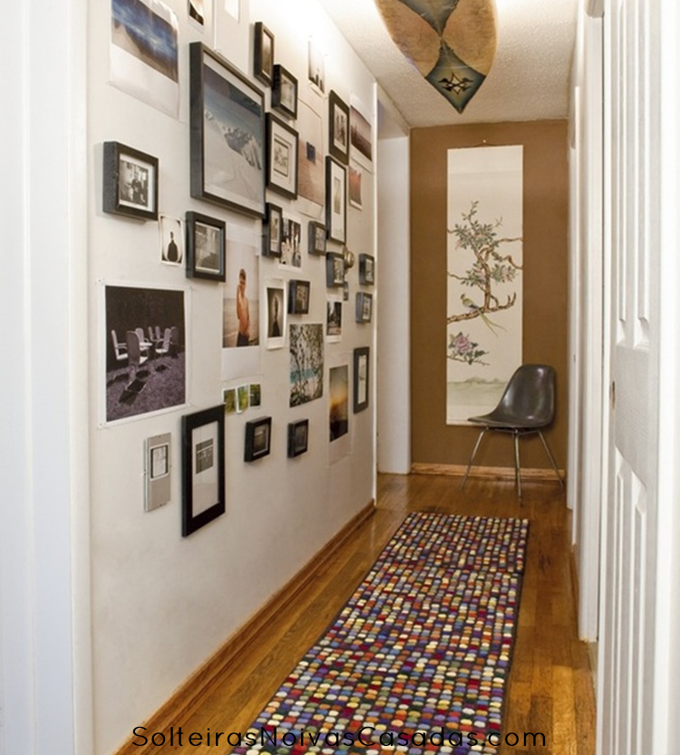 Casa e decora o corredor decorado corredores pasillos - Lo ultimo en decoracion de paredes ...