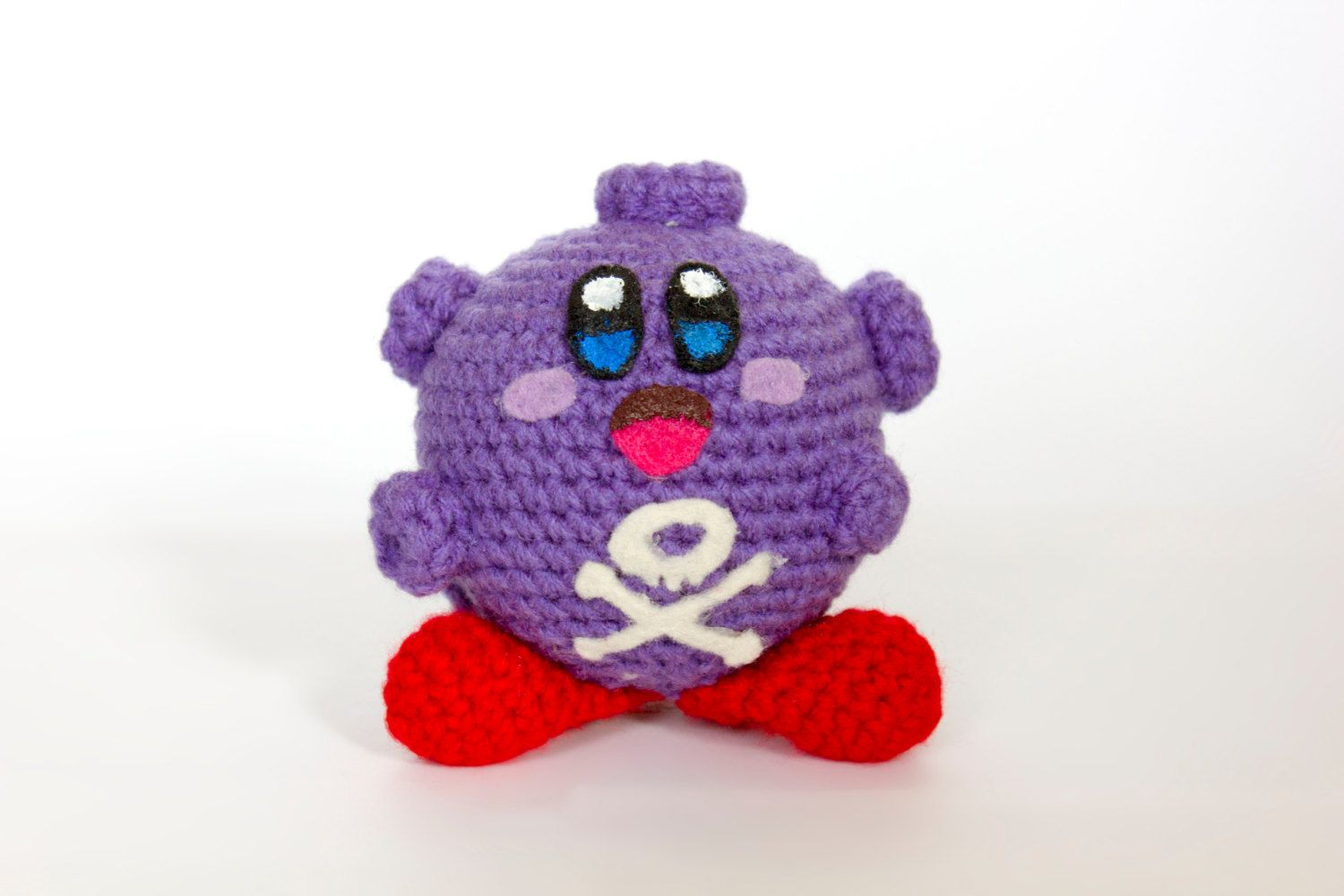 Crochet Koffing Kirby Amigurumi **Made to order | Amigurumi patterns ...