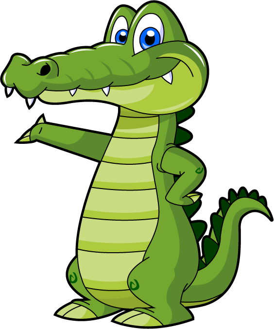 Cute Animated Alligator | www.pixshark.com - Images ...